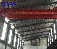 河北沧州出售10台出售二手32吨跨度22.5米双梁行吊二手双梁天车电议或面议