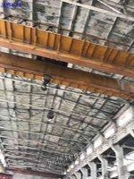 出售二手32吨跨度22.5米双梁行吊