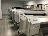 上海嘉定区出售10台武藤1604W/1604E/1624W/1624E二手喷绘/写真机