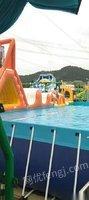 武汉江夏区整套水上乐园设备转让 30000元