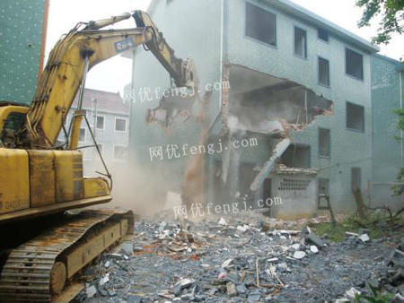 专业承接房屋拆除工程