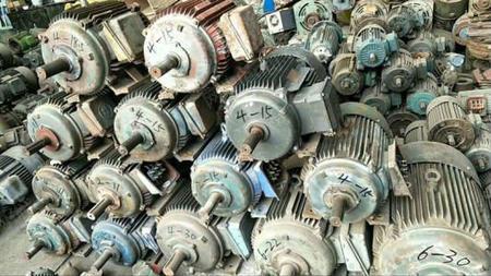 大量回收废旧电机