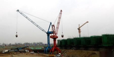 河南信阳出售二手9成新圆筒式高架门机mq900tm一套 200万元