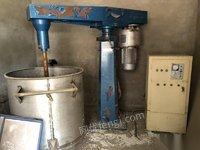 山东济南专业求购旧分散机 砂磨机 涂料设备 油漆设备 95888元