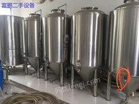 转让二手精酿啤酒设备 二手500升啤酒精酿设备