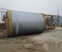 海南海口八成新西安水泥罐轉讓,兩個300噸;兩個200噸
