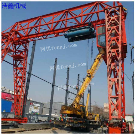 出售精品二手10吨龙门吊15米跨