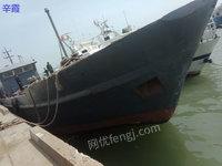 河北出售船舶,长37宽7米型身2、8米主机二台700马力