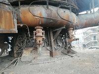 出售二手128立方的高炉,3个热风炉,两条铸铁机!