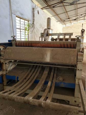 造纸厂出售压瓦椤纸机3-5台,