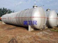 出售100立方液化气罐