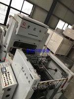 浙江温州低价出售1台全自动1050型复膜机瑞安宏强出厂