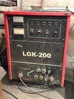 供应二手山东青岛大型等离子切割机lgk-200 10000元 ,9成新,