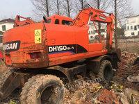 福建宁德出售1台斗山150-7轮挖二手挖掘机二手挖掘机323000元