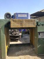 河北沧州出售2台1-800二手倒立式拉丝机全套设备