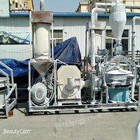 山东青岛出售8成新张家港600磨粉机 25000元