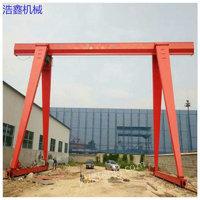 安徽二手10吨单梁包厢龙门吊价格