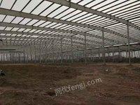 泛华二手钢结构厂房旧钢结构二手型钢回收出售价格北京
