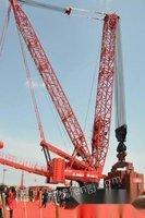 河南安阳转让一台2019年新扶挖1250吨履带吊,进口配置