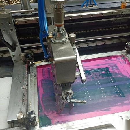 广东中山景大全自动双色丝印机出售