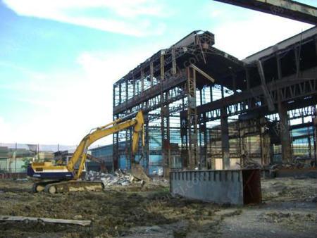 专业承接厂房拆除