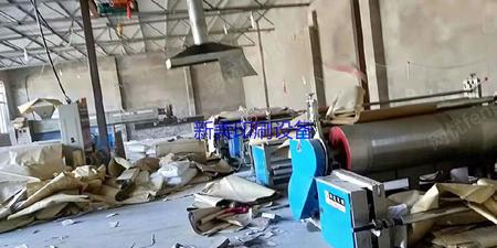 浙江温州处理一台9.5成新1700型科达淋膜复合机,单膜头靠背收卷。