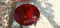 长期出售二手圆形小茶几,椅子类家具