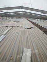 泛华钢构出售回收型钢、檩条等钢材