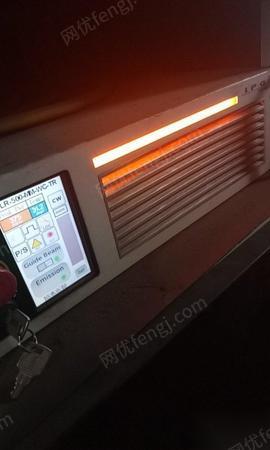 广东东莞12年在位迪能500瓦光纤激光切割机一台转让 55000元