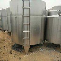 供应二手储罐 10-50立方不锈钢储罐 玻璃钢储罐 化工储运设备 山东
