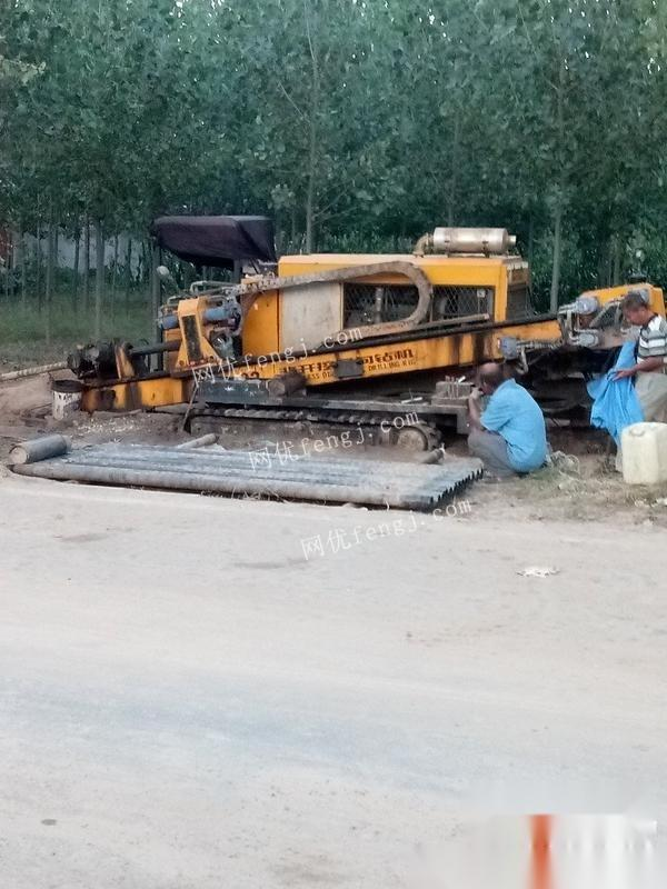 天津河西区转让16年黄海32吨,非开挖钻机