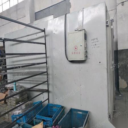 浙江宁波因业务少出售二手柴油喷漆喷塑烘箱  13000元