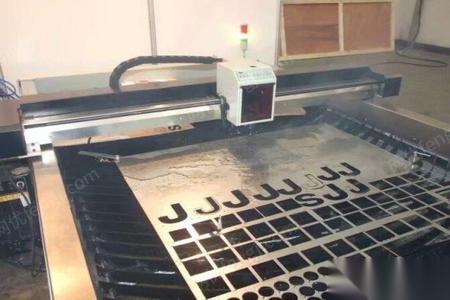 天津和平区5成新广告数控等离子切割机1.2*2.4 9800元出售