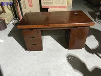 出售1.4米全三安贴木皮电脑桌700套