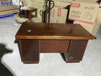出售全三安贴木皮电脑桌