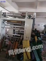 Sell printing machine,brand Deguan,seven-color