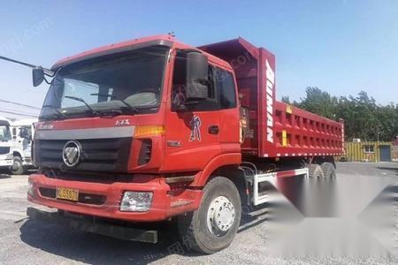 河北唐山出售14年欧曼后八轮自卸车6.5米车厢-河北唐山求购 回收 供
