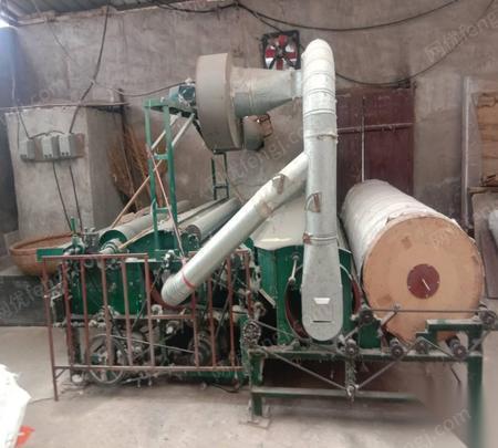 陕西渭南现有闲置二手弹花机、缝被机和轧花机各一台出售