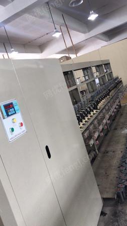 弹力丝厂出售96锭锭氨纶包覆纱机(配套络丝机)192锭氨纶包覆纱机各1台.买来不到两年,价钱合适处理,有图片