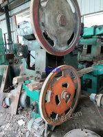 河北沧州出售12台二手制钉机轧制设备电议或面议