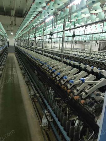二手棉麻纺纱设备转让