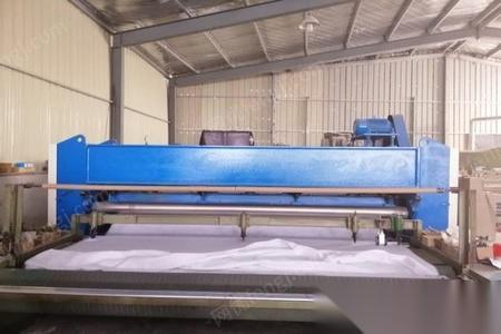江苏苏州转让3.3米针刺无纺布生产线