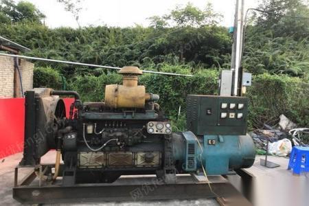 广东江门转让发电机组150千瓦 12000元
