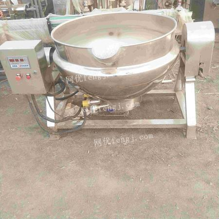 Sale of second-hand electric heating sandwich pot,500 liter electric heating sandwich pot
