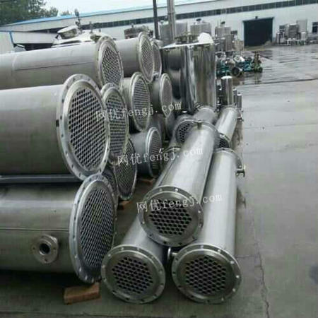 Sale of stainless steel condensers,one batch