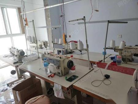 北京昌平区二手平机6台 烫台 锁边机  11000元打包出售