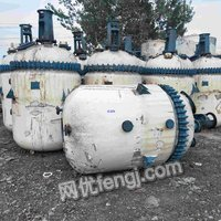 High-priced recycling of used chemical equipment,enamel reactor,stainless steel reactor,cone mixer
