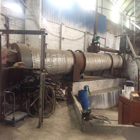 广西柳州二手全新烘干机一套出售 长12米、直径1.2米 10万元