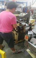 广东中山鸿发不干胶机,在生产之中的设,可以过来试机 12000元 出售