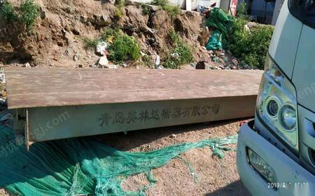 山东青岛1台20吨2.5*6米地磅 出售